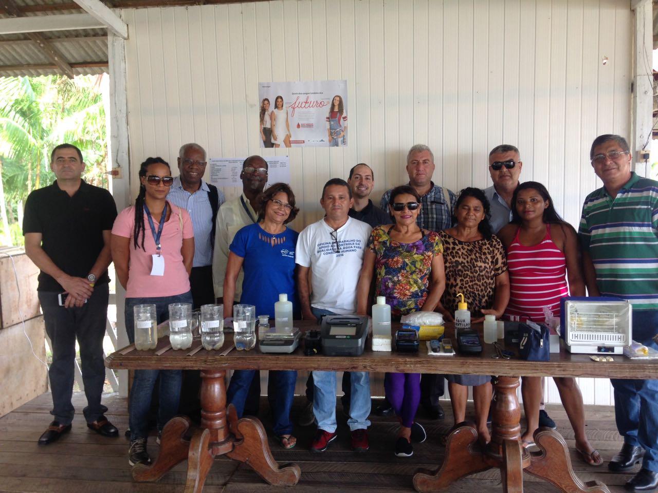 Haiti e Palestina conhecem tecnologia brasileira para tratamento de água