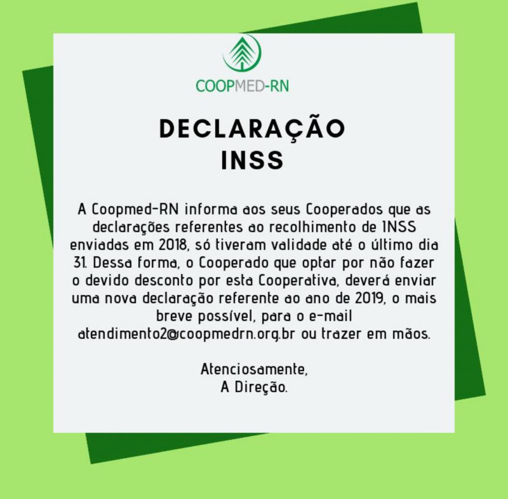 Atenção na validade da Declaração do INSS