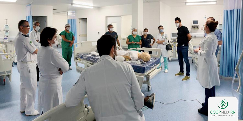 COOPMED-RN realiza treinamento sobre o manejo de pacientes com coronavírus (COVID-19)